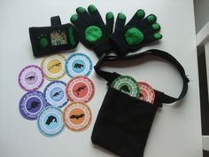 Wild Kratts Creature Power Suits | ... Power suit accessories: communicator, gloves, pouch and Creature Power