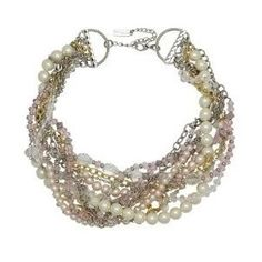 Nina Accessories Chunky Pearl Necklace