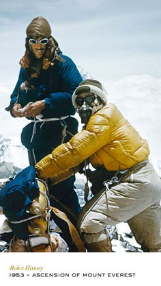 On 29 May 1953, a British expedition equipped with Rolex Oyster Perpetual watches took the first men to the summit of Mount Everest. #RolexOfficial