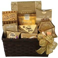 Gluten free gift basket classic free gifts baskets and gift baskets scrumptious treats gourmet gift basket 5000 negle Choice Image