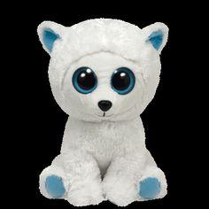 48a0143fa2b Ty Beanie Boos - Tundra (Big) the Polar Bear