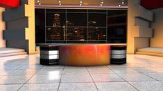 Studio Background Images, Office Background, Change Background, Tv Set Design, Virtual Studio, Studio Green, Studio Backdrops, New Backgrounds, News Studio