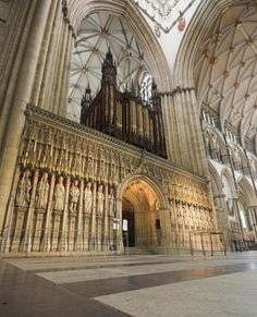 Been here too. It's beautiful! York Minster, UK