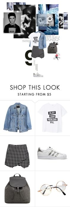 """""""Tumblr"""" by camimany ❤ liked on Polyvore featuring Fortis, Y/Project, MANGO, adidas Originals, Retrò and Urbanears"""