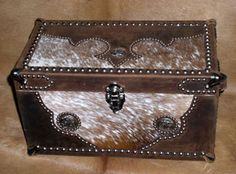 western chest (need to take the ones I have and cover them in cowhide & conchos)