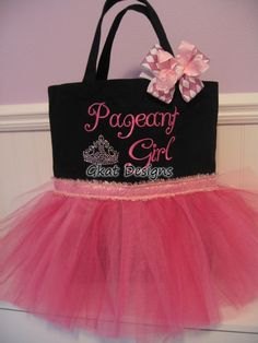 Too Cute - Pageant Girl Tote Bag