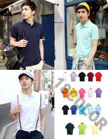 Today's Hot Pick :カラーポロTシャツ(全18色) http://fashionstylep.com/SFSELFAA0008731/top3666jp1/out スタンダードデザインのポロシャツです。 男子たちに断然人気アイテムのエッジポロシャツ。 カジュアルにもキレイめにもあわせやすくて、便利。 エッジカラーが洗練されたルックスはカラーによって又違ったテイストを楽しめます。。 ◆18色:グレー,ブラック,ワイン,ホワイト,レッド,オレンジ,イエロー,ホットピンク,ピンク,パープル,ネイビー,ブルー,パステルブルー,ミント,スカイブルー,グリーン,イエローグリーン,レモン