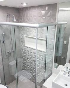 Modern Bathroom Tile, Hall Bathroom, Bathroom Design Luxury, Rustic Bathrooms, Bathroom Design Small, Bathroom Layout, Beautiful Bathrooms, Home Decor Kitchen, Bathroom Inspiration
