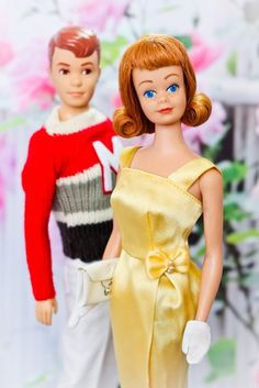 Allan and Midge. Had his outfit, but not her pretty dress :(
