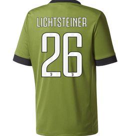 adult 26 lichtsteiner juventus fc third away soccer jersey 2017 18
