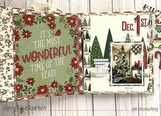 Celebrate the Season! by Jen McMurtrey – Simple Stories Page Protectors, Jingle All The Way, Simple Stories, December Daily, Make It Through, No Way, Cute Wallpapers, Wonderful Time, Holiday