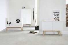 Sixties white / oak - Nursery Furniture | Kidsmill