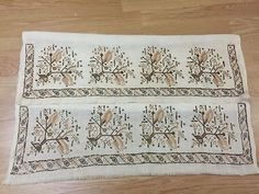 ottoman embroidery towel  large