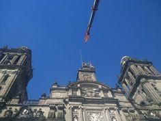 Después de 205 años, la Catedral Metropolitana de la Ciudad de México perdió hoy 8 de Noviembre, definitivamente a las 3 virtudes teologales, de Manuel Tolsá