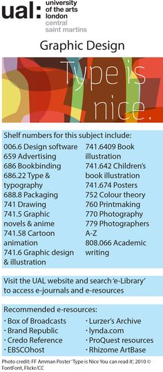 Graphics Design subject guide 2014
