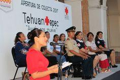 Nombran a presidenta municipal de Tehuantepec presidenta honoraria de la Cruz Roja