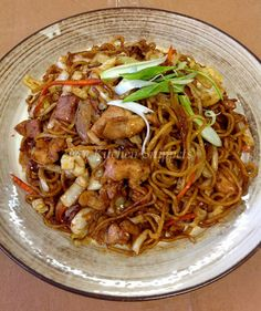 Yakisoba, literally fried noodles, is considered a Japanese dish but originally derived from the Chinese chow mein. While chow mein uses...