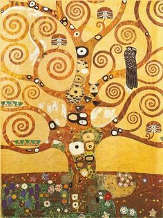Tree Vector Green Globe Outline Made From Find Similar Images. Tree Of Life Painting By Gustav Klimt. Tree Of Life 1905 09 Gustav Klimt . Art Klimt, Art Nouveau, Alfons Mucha, Art Gallery, Online Gallery, Life Poster, Pics Art, Paul Gauguin, Oil Painting Reproductions