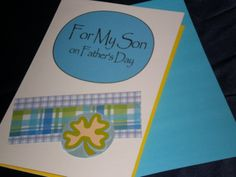 Great card from a mom to a son. Good Parenting, Pretty Cards, Greeting Cards Handmade, Separate, Fathers Day, Sons, Parents, Craft Ideas, Messages