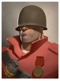 The Soldier - Team Fortress 2 - Moby Francke