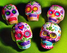 One of the most important components of Day of the Dead is the food. Although different regions in Mexico vary in what foods are prepared, there are a few staples that are uniform in every household; sugar skulls (calaveras), pan de muerto, candied pumpkin, and atole.