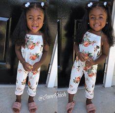 Cute Mixed Babies, Cute Black Babies, Beautiful Black Babies, Cute Baby Girl, Adorable Babies, Baby Baby, Black Little Girls, Cute Little Girls Outfits, Cute Girls