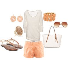 summer nights, created by jessiiemessiie on Polyvore