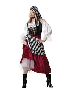 Womenu0027s Pirateu0027s Wench Adult Halloween Costume 2014 - The pirate costume was very durable attractive and will be able to be used for many years to come.  sc 1 st  Pinterest & Provocative Pirate Adult Costume | Adult Pirate Costume | Pinterest ...
