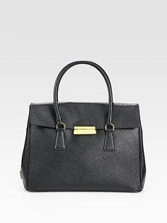 f597978143fb Prada - Saffiano Flap Tote Bag - Saks.com Prada Saffiano