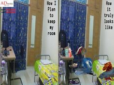 And me and my room stayed untidy, happily ever after.. ;) ;)