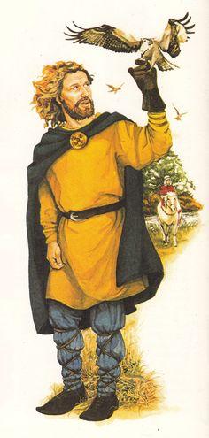 900 AD: Anglo Saxon peasant men's clothing