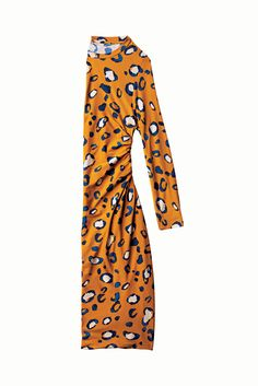 Every Single Phillip Lim For Target Item #refinery29 Mustard Orange Leopard Print Dress - Would go Great with a Blazer!
