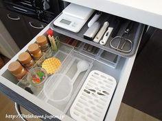 画像4 : マネしたくなる『狭いキッチンを簡単おしゃれに収納する方法』まとめ │ macaroni[マカロニ]