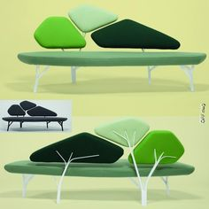 Ordinaire Green Chairs, Green Nature, Sofa Chair, Sofas, Furniture Design, Commercial,  Interiors, Womb Chair, Chaise Sofa