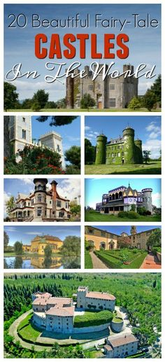 With over 900 castle