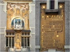 Spotted: Maison Cauchie, one of the most beautiful Art Nouveau buildings in Brussels which is absolutely worth discovering!
