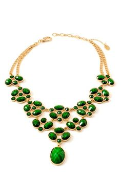 Wisteria Necklace, Amrita Singh - love the green!