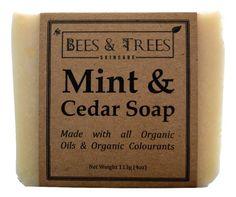 Bees & Trees - Mint & Cedar Soap