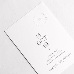 """N E W ― Classic + minimal with a touch of hand lettering and a touch of embossing ✨"""""""