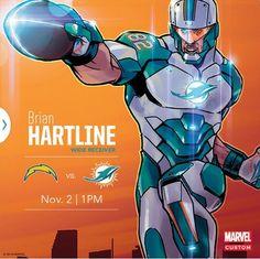 NFL Jersey's Women's Miami Dolphins Jordan Phillips Pro Line Team Color Jersey