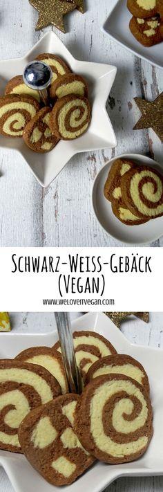 Schwarz-Weiß Gebäck - Vegan