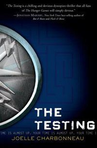 The Testing Book - Joelle Charbonneau It wasn't bad, I am just so do e with dystopian novels. This was like Hunger Games meets Divergent. 3/5