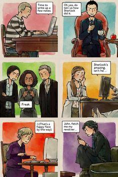Tags: Anime, Fanart, Comic, Sherlock Holmes, Dr. John Watson