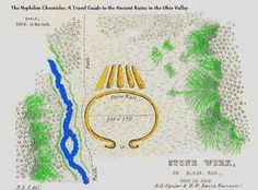 Mound Builders: A Travel Guide to the Ancient Ruins in the Ohio Valley: Ross County's Stone Serpent Mound Visible From Spruce Hill Stone Ceremonial Work