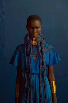 Look at this Stylish womens african fashion Tribal Mode, Moda Tribal, African Inspired Fashion, African Fashion, Ankara Fashion, African Men, African Attire, African Style, African Dress