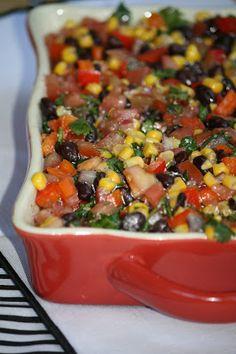 """B"" dubs cafe: Fresh and healthy Black Bean Salsa...MMM"
