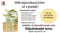 DXN Tea Tree Cream order in DXN Slovakia: http://sk.dxncoffeemagic.com/products