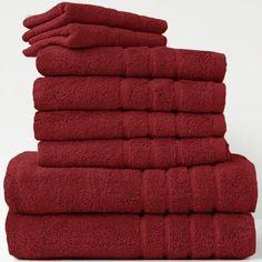 Handtücher Set bordeaux 8 tlg. Royal