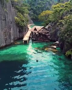 Coron Palawan: The most beautiful island in the world Image via H.abanil With a population of people, Coron island in the Philippines is considered one of the most beautiful islands in the world. And it looks like paradise. On a historical… The Places Youll Go, Cool Places To Visit, Places To Go, Places Around The World, Around The Worlds, Beautiful Places To Travel, Most Beautiful Beaches, Amazing Places On Earth, Beautiful Hotels
