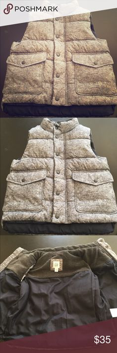 🌟FLASH SALE🌟Gap puffer vest, 4T NWOT Grey Gap puffer vest! 4T **Never worn** GAP Jackets & Coats Vests